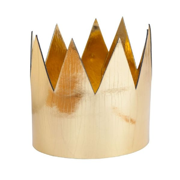 King/Queens Crown - Shiny Gold